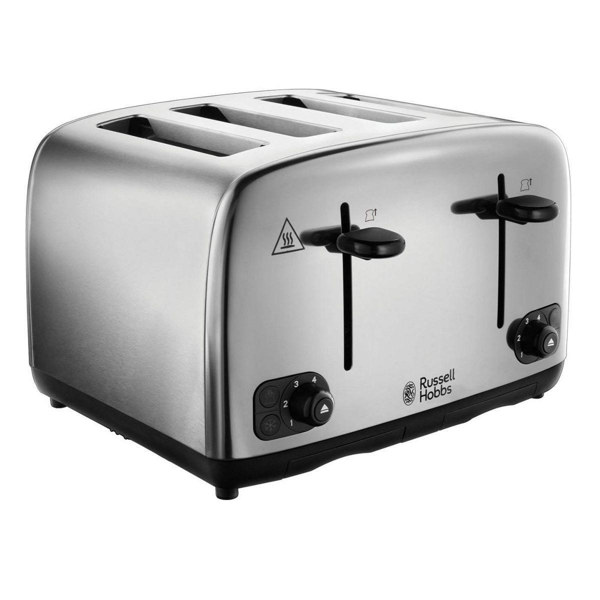 Russell Hobbs 24090 Toaster 4 Slice – Stainless Steel