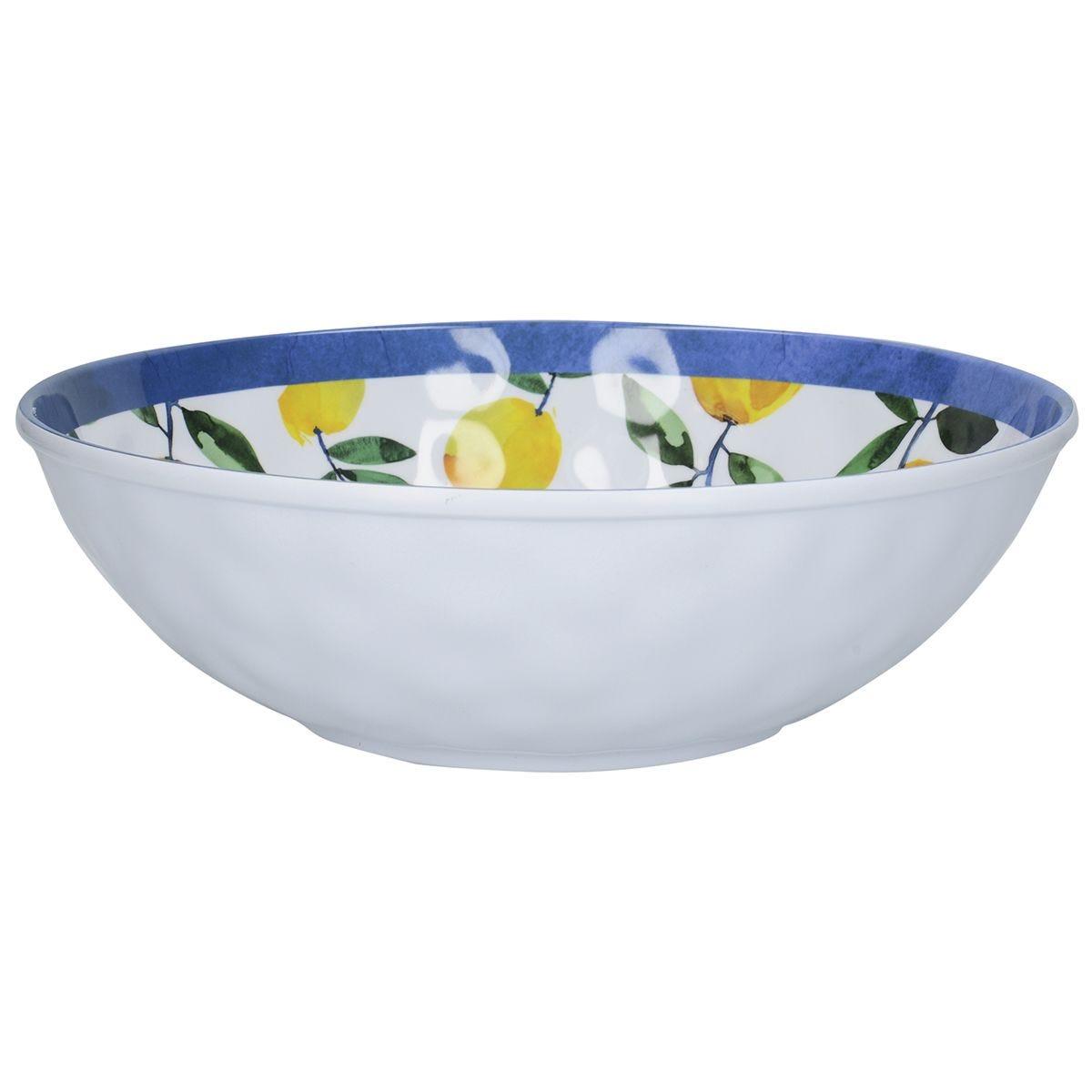 Creative Tops Lemon Melamine Salad Bowl