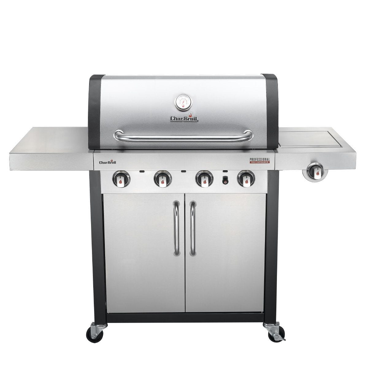 Char-Broil Professional 4400S 4 Burner Gas BBQ - Stainless Steel