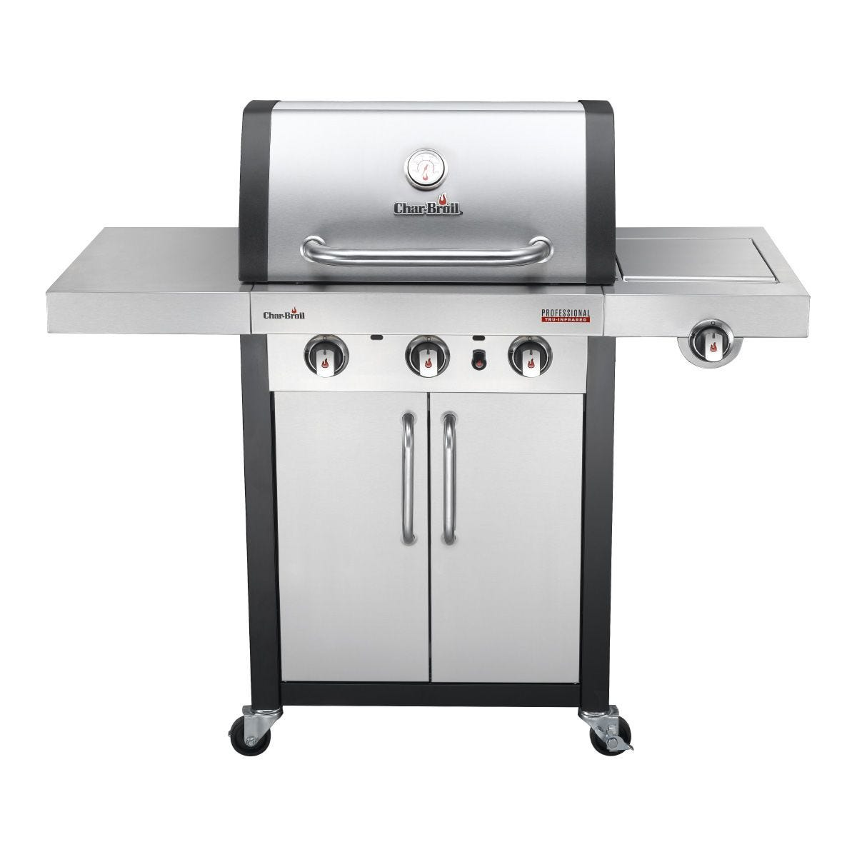 Char-Broil Professional 3400S 3 Burner Gas BBQ - Stainless Steel