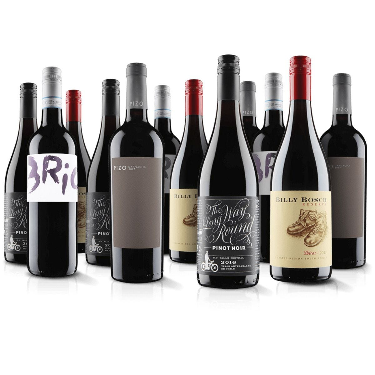 Virgin Wines 12 Pack Red Boutique