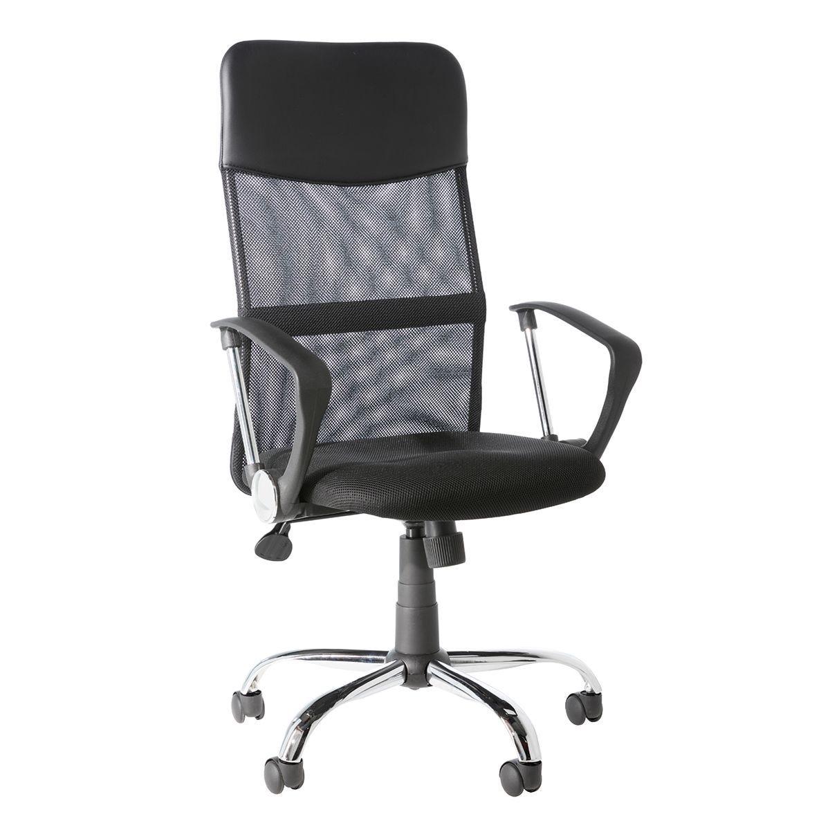 Alphason Orlando Tilting Operator Chair - Black