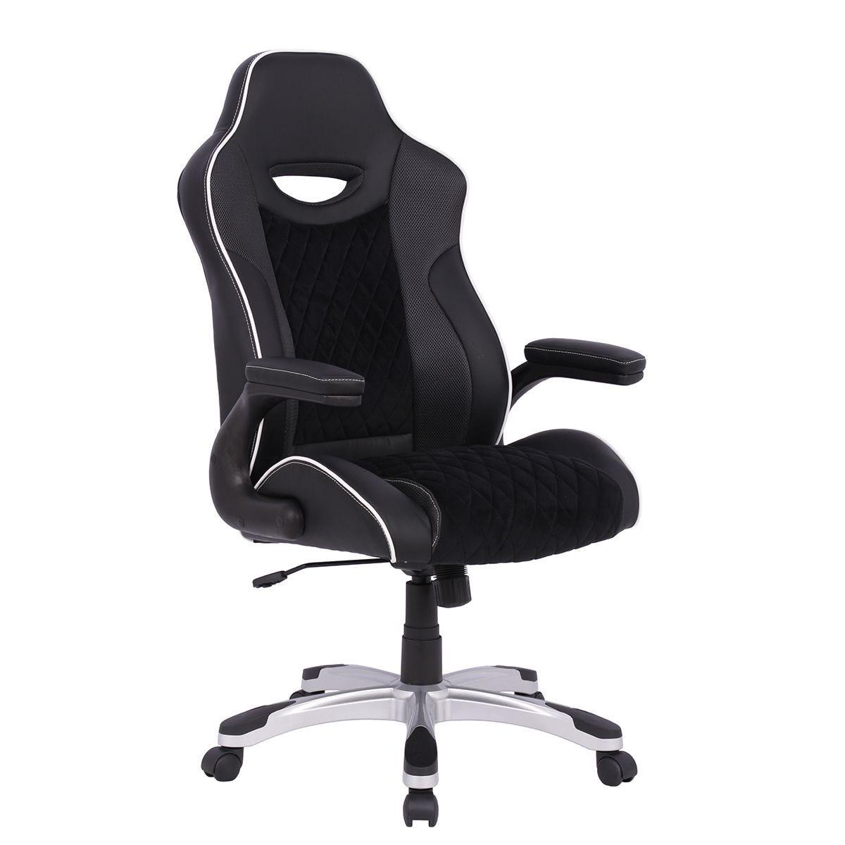 Alphason Silverstone Gaming Chair - Black