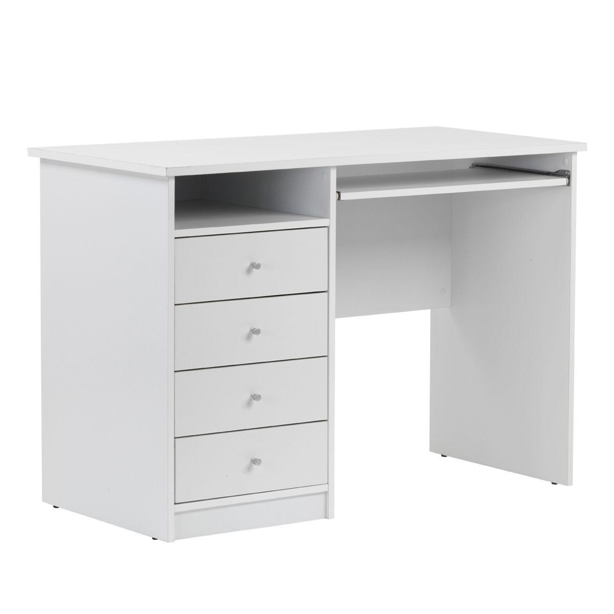 Alphason Marymount Desk - White