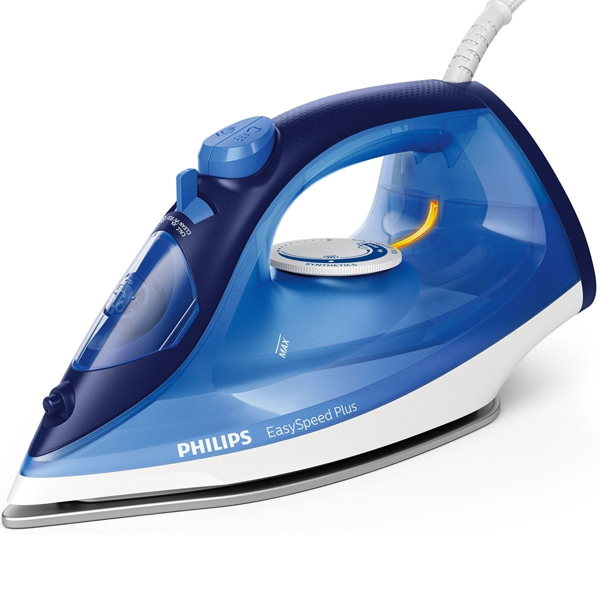 Philips Easy Speed Plus Steam Iron - Blue
