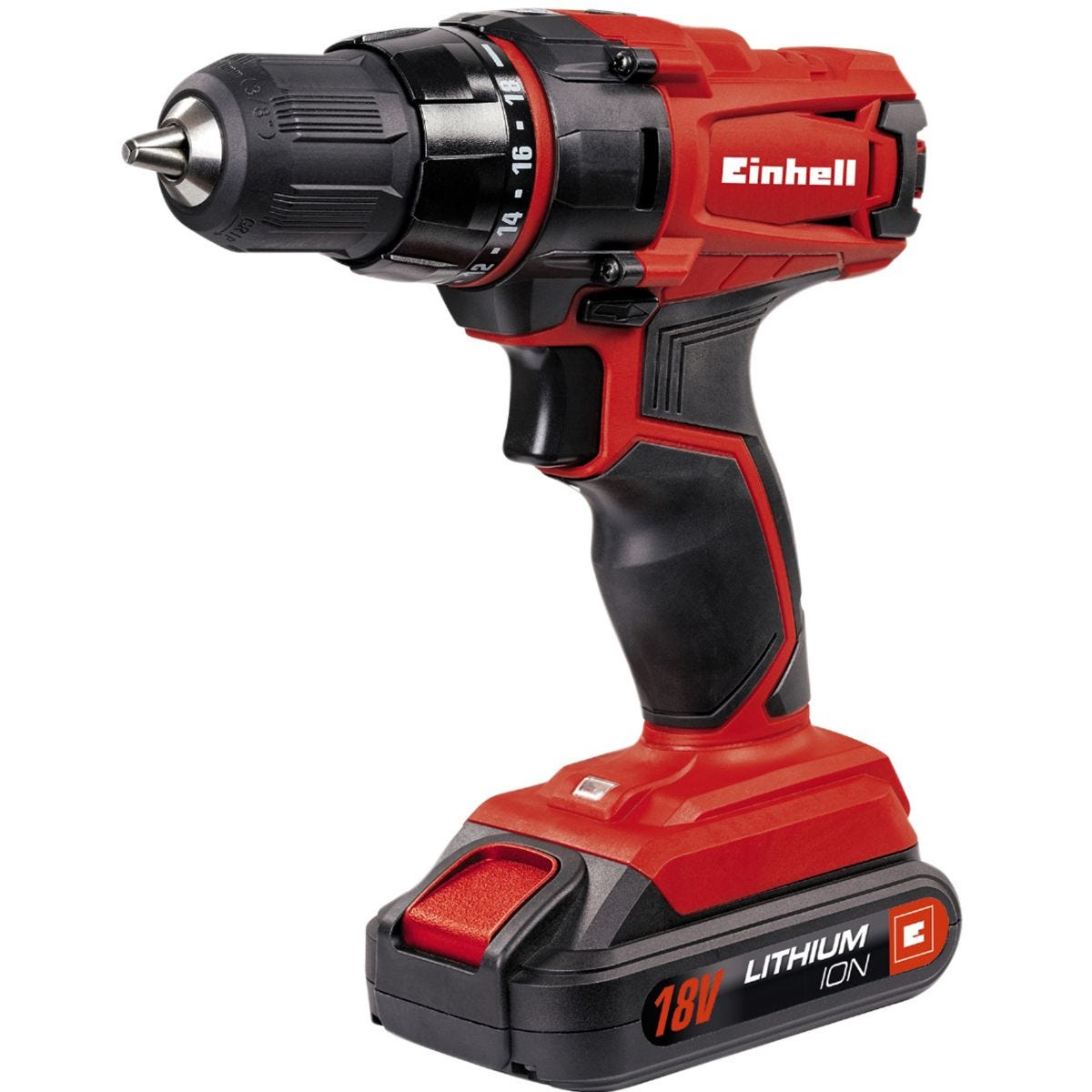Einhell 18V Cordless Drill/Driver with 1.5AH Li-Ion Battery