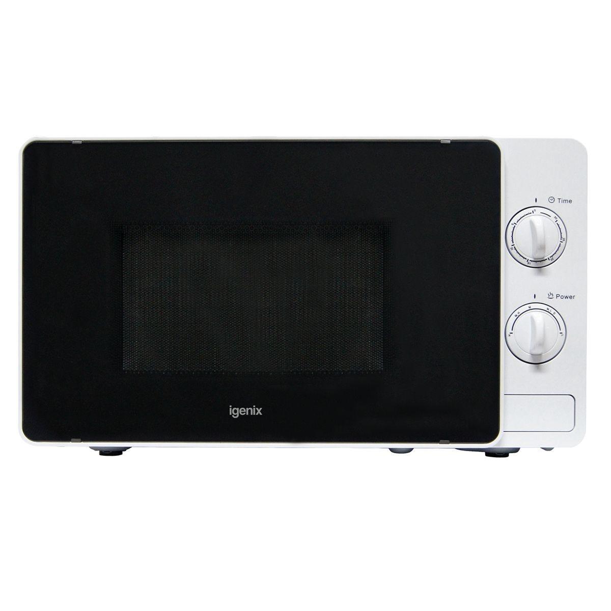 Igenix IG2081 20L 800W Manual Microwave – White