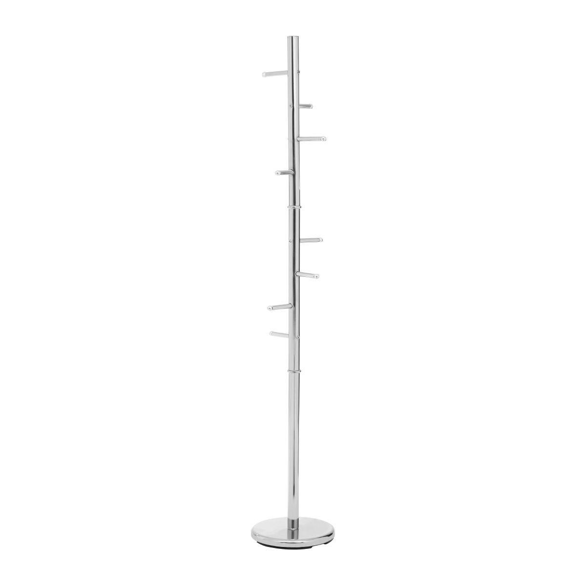 Premier Housewares 8 Peg Coat Stand - Chrome