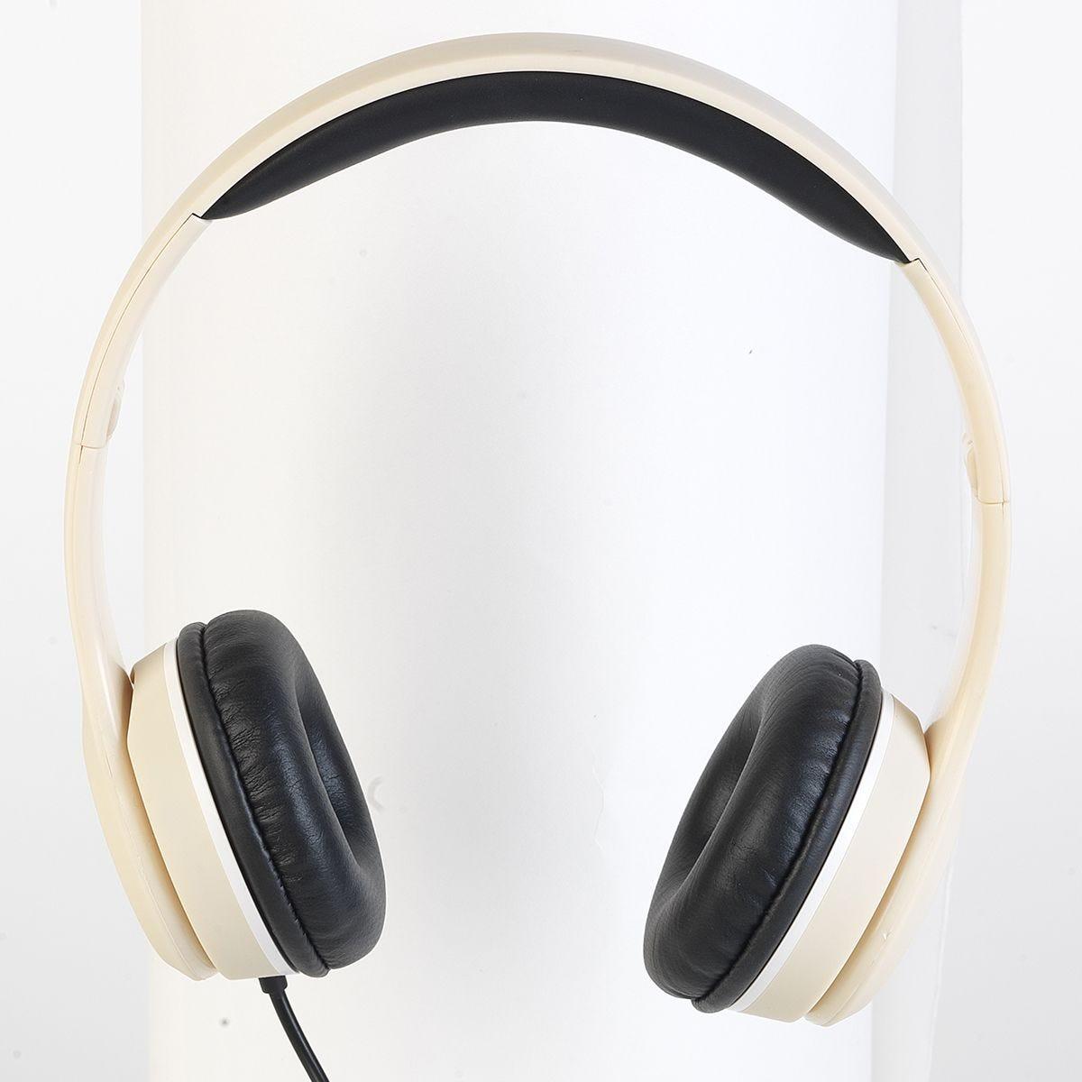 Intempo Stereo Headphones - Cream