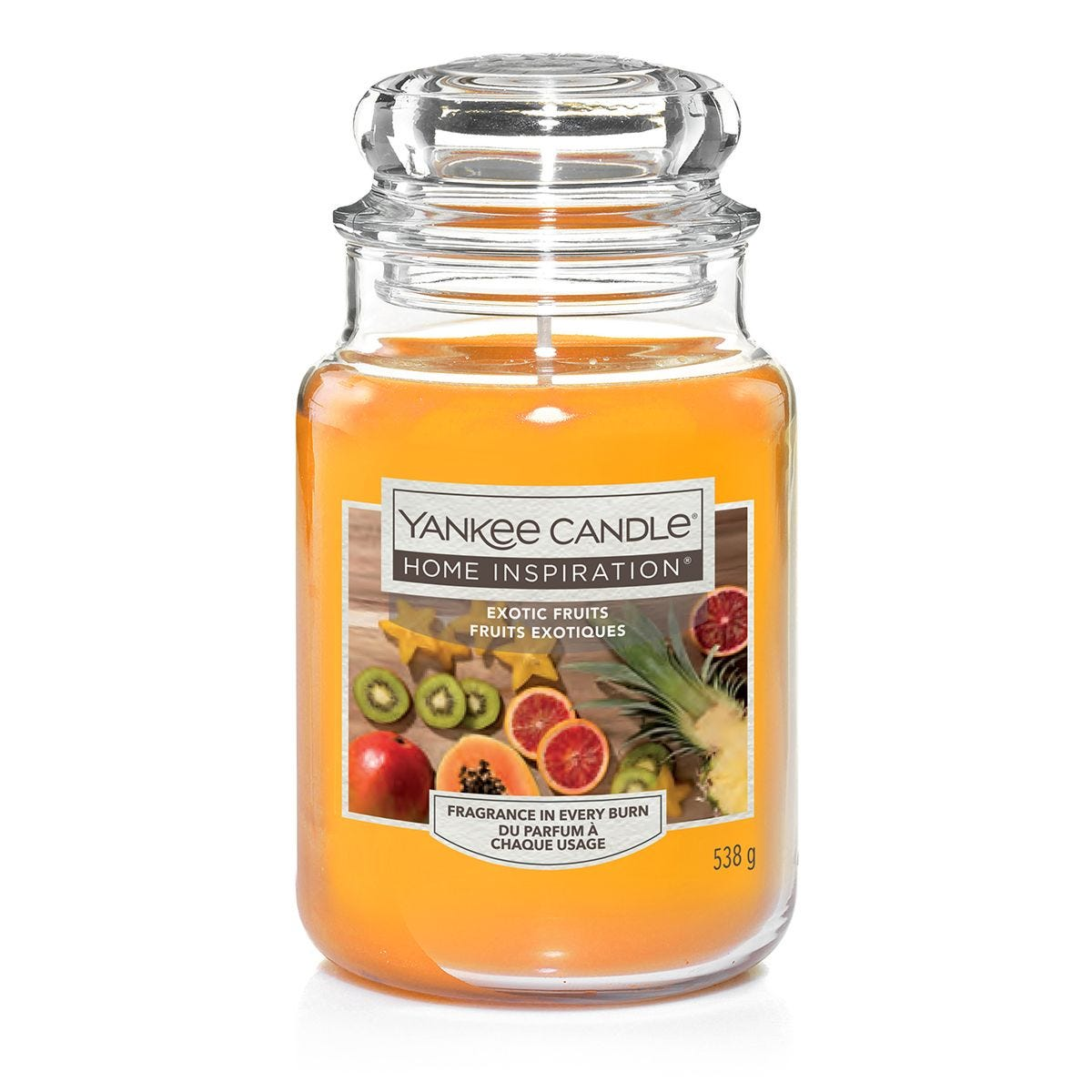 Yankee Candle Home Inspiration Exotic Fruit Large Jar Candle Robert Dyas