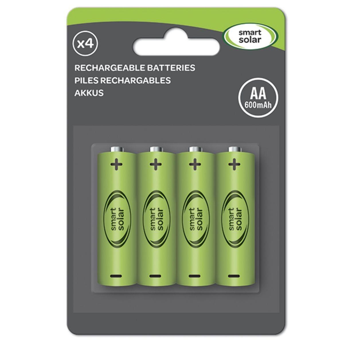 Smart Garden Solar Light AA Batteries - 600mAh