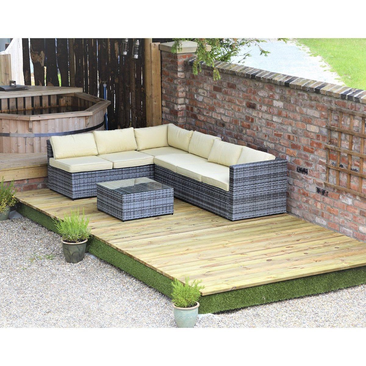 Swift Foundations Garden Decking Kit - 2.4 x 4.7m