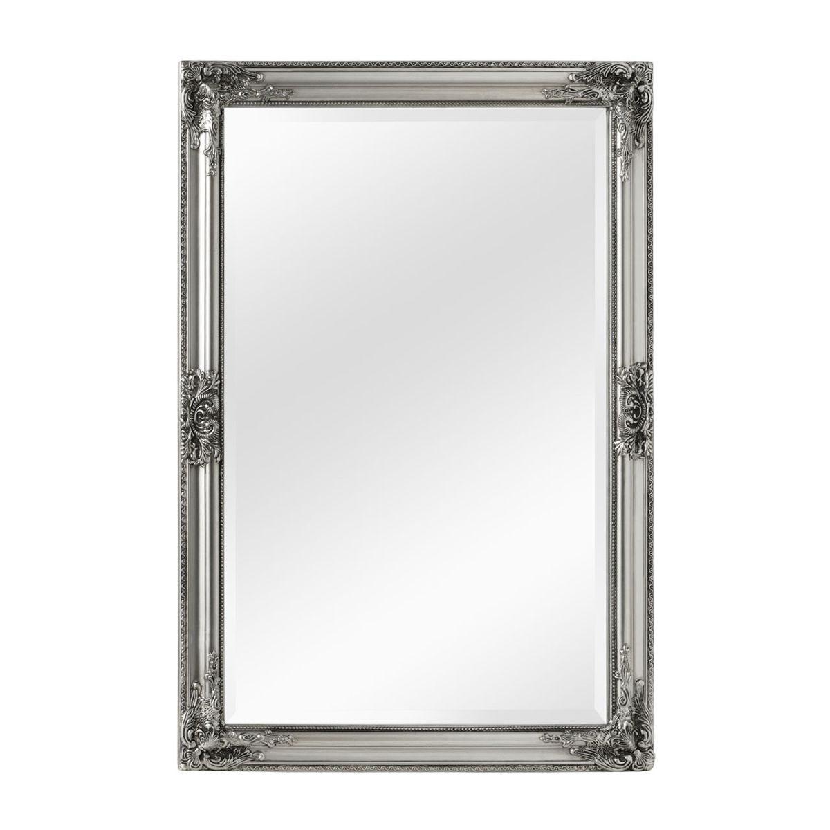 Premier Housewares Rustic Vintage Mirror - Silver