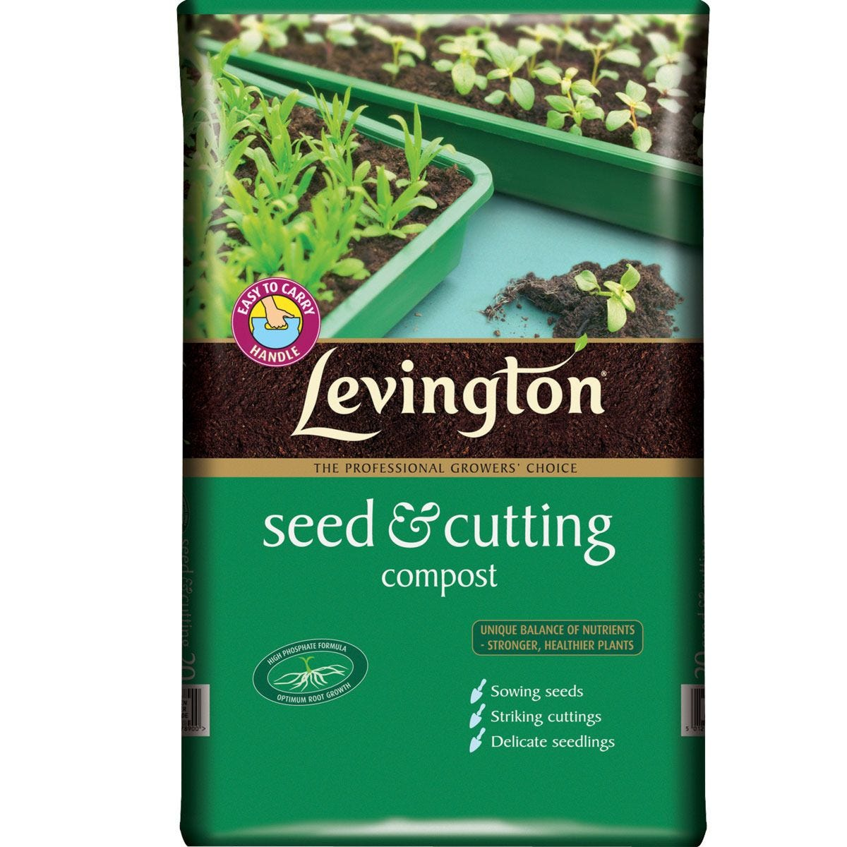 Levington Seed & Cutting Compost - 20L