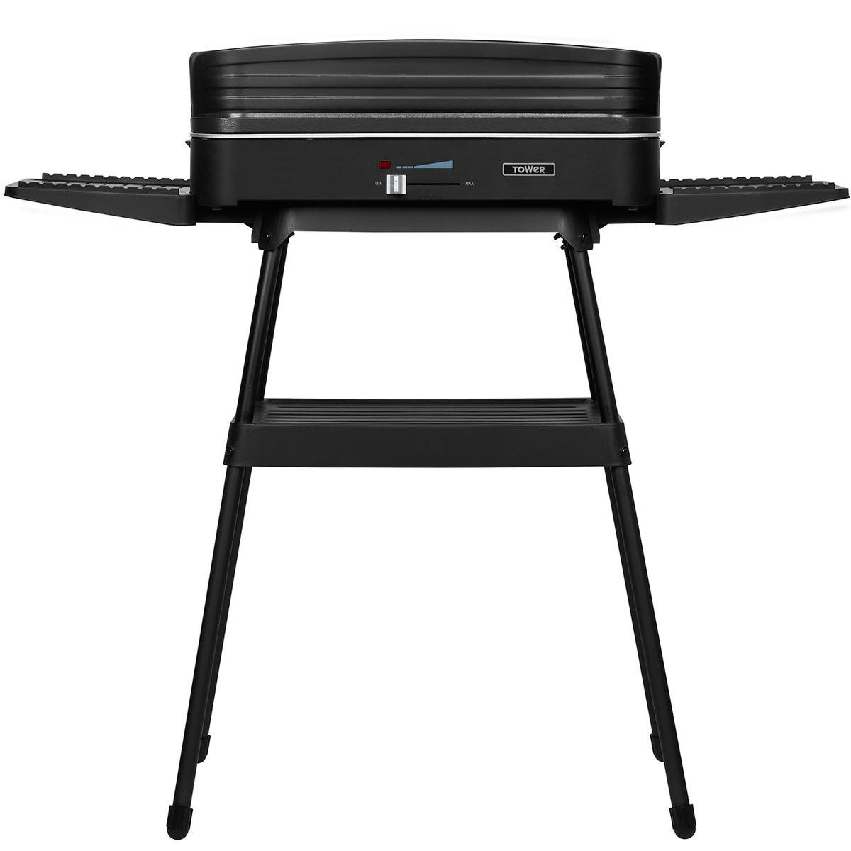 Tower T14028 Indoor and Outdoor 2200W BBQ Grill - Black