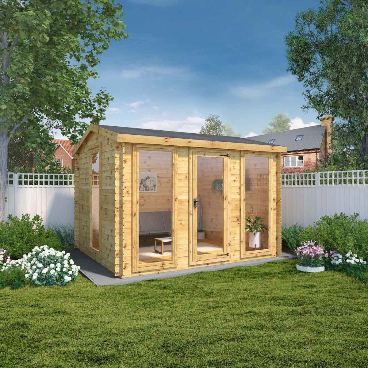 Mercia Kielder 19m Log Cabin - 3.5m x 3m