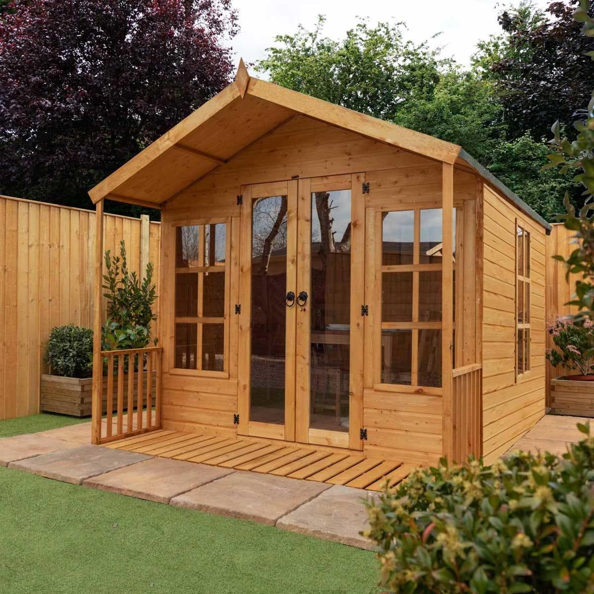 Mercia Traditional Summerhouse - 8 x 8ft