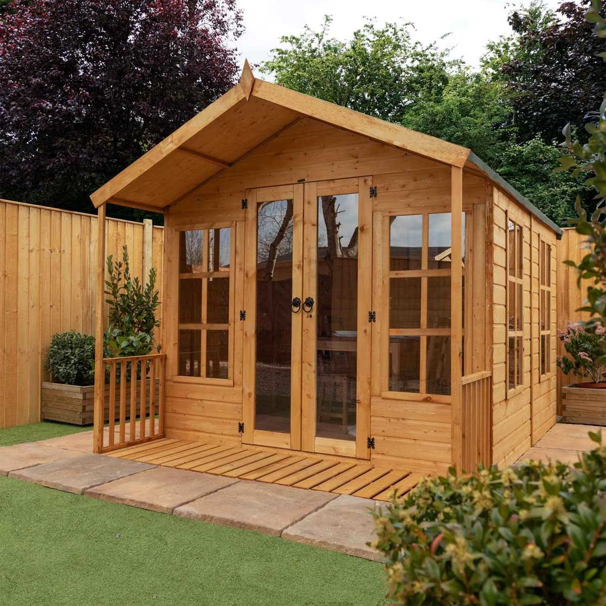 Mercia Traditional Summerhouse - 10 x 8ft