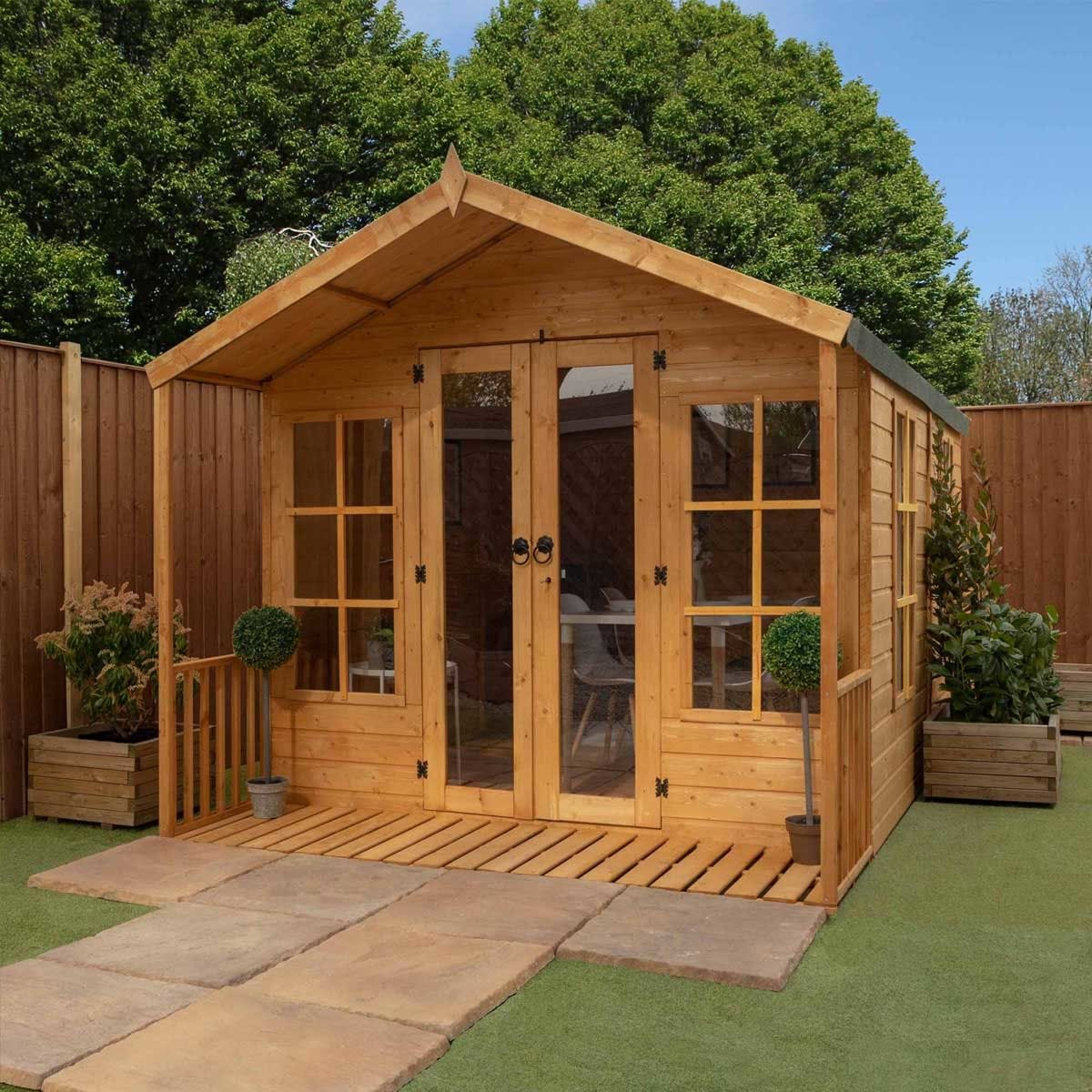 Mercia Traditional Summerhouse - 12 x 8ft