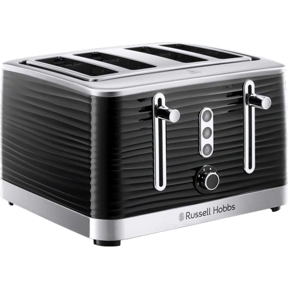 Russell Hobbs 24381 Inspire 4 Slot Toaster - Black