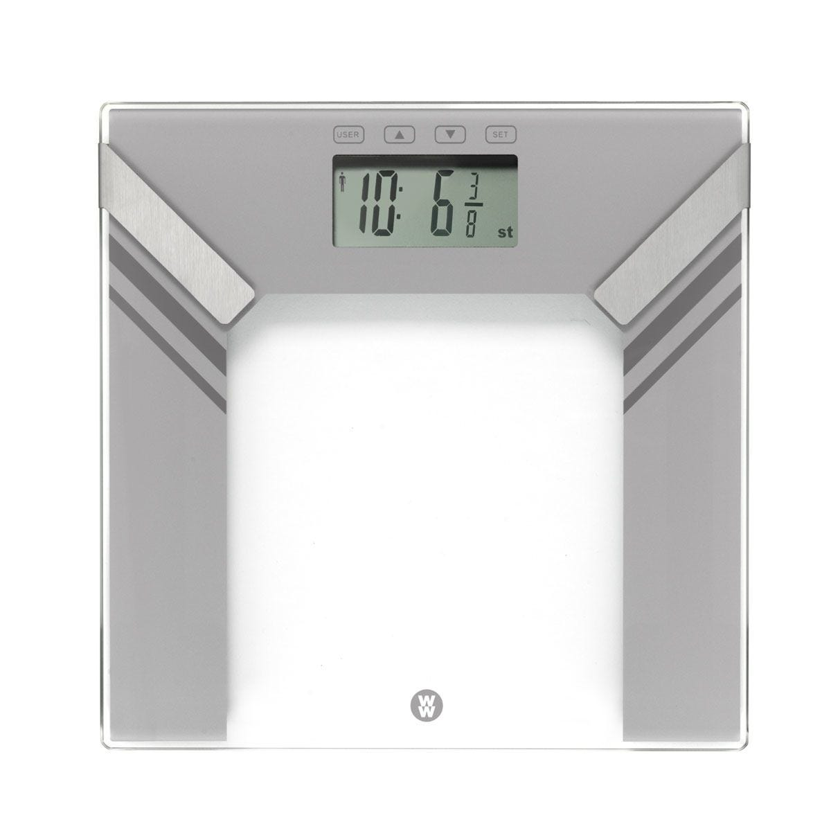 Weight Watchers Ultra Slim Glass Body Analyser Scale