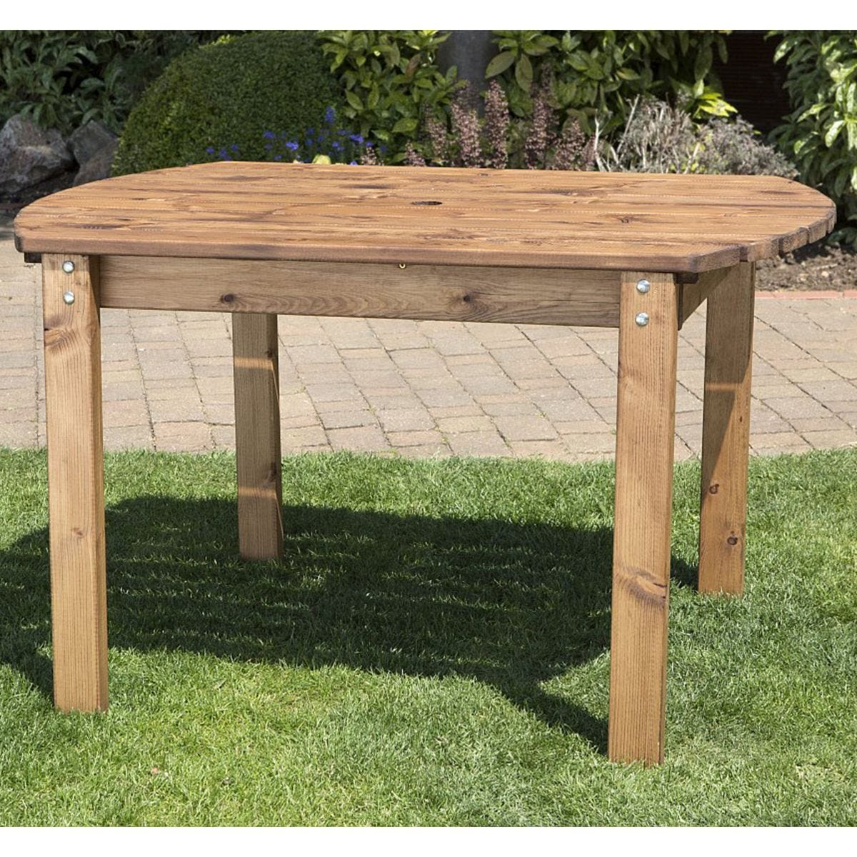 Charles Taylor Four Seater Wooden Rectangular Table