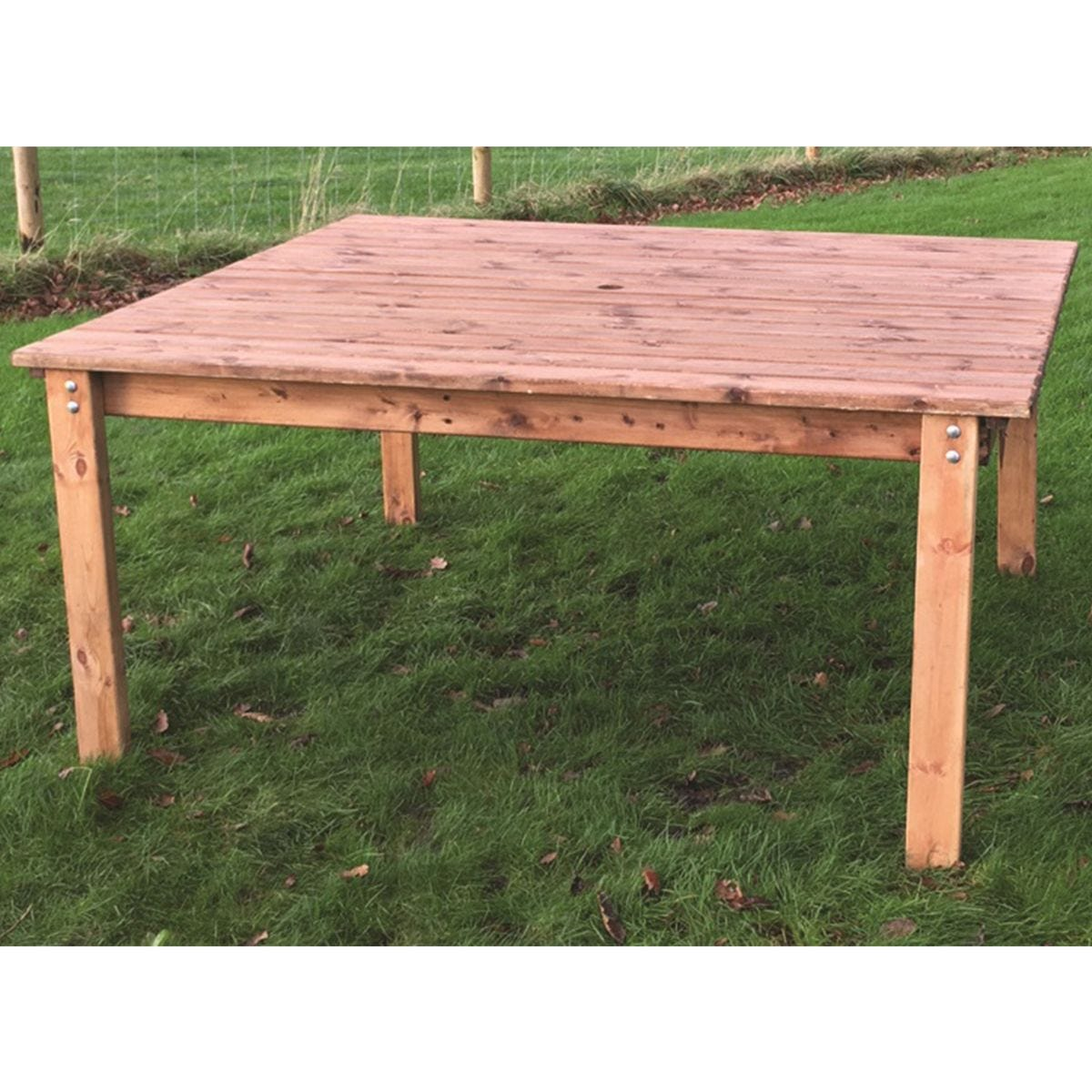 Charles Taylor 4 Seater Square Wooden Dining Table