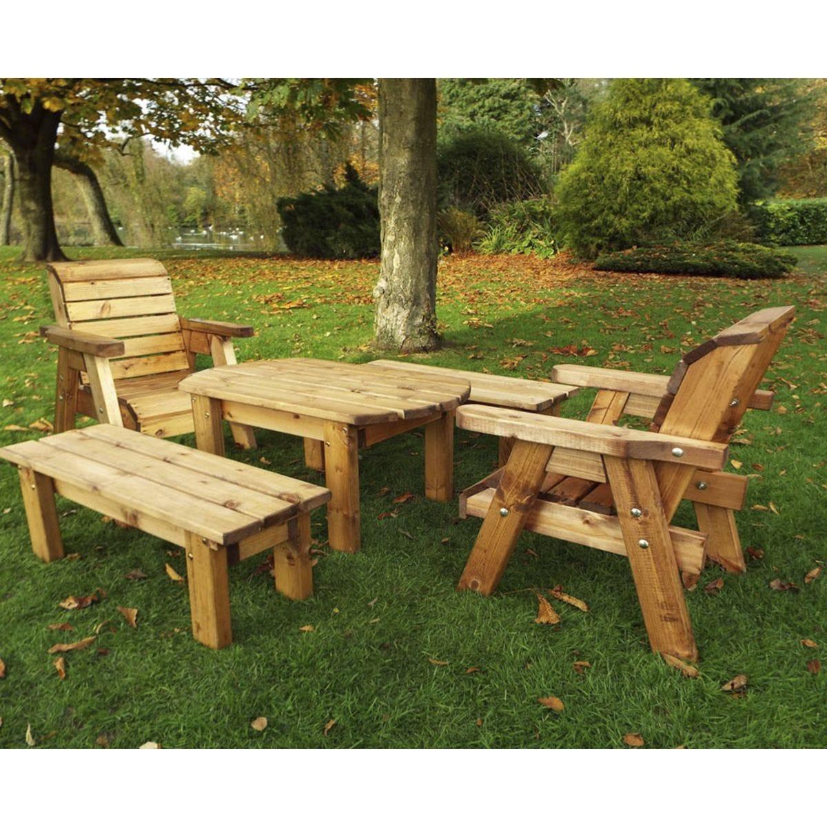 Charles Taylor Little Fellas Children's Medium Wooden Table Set
