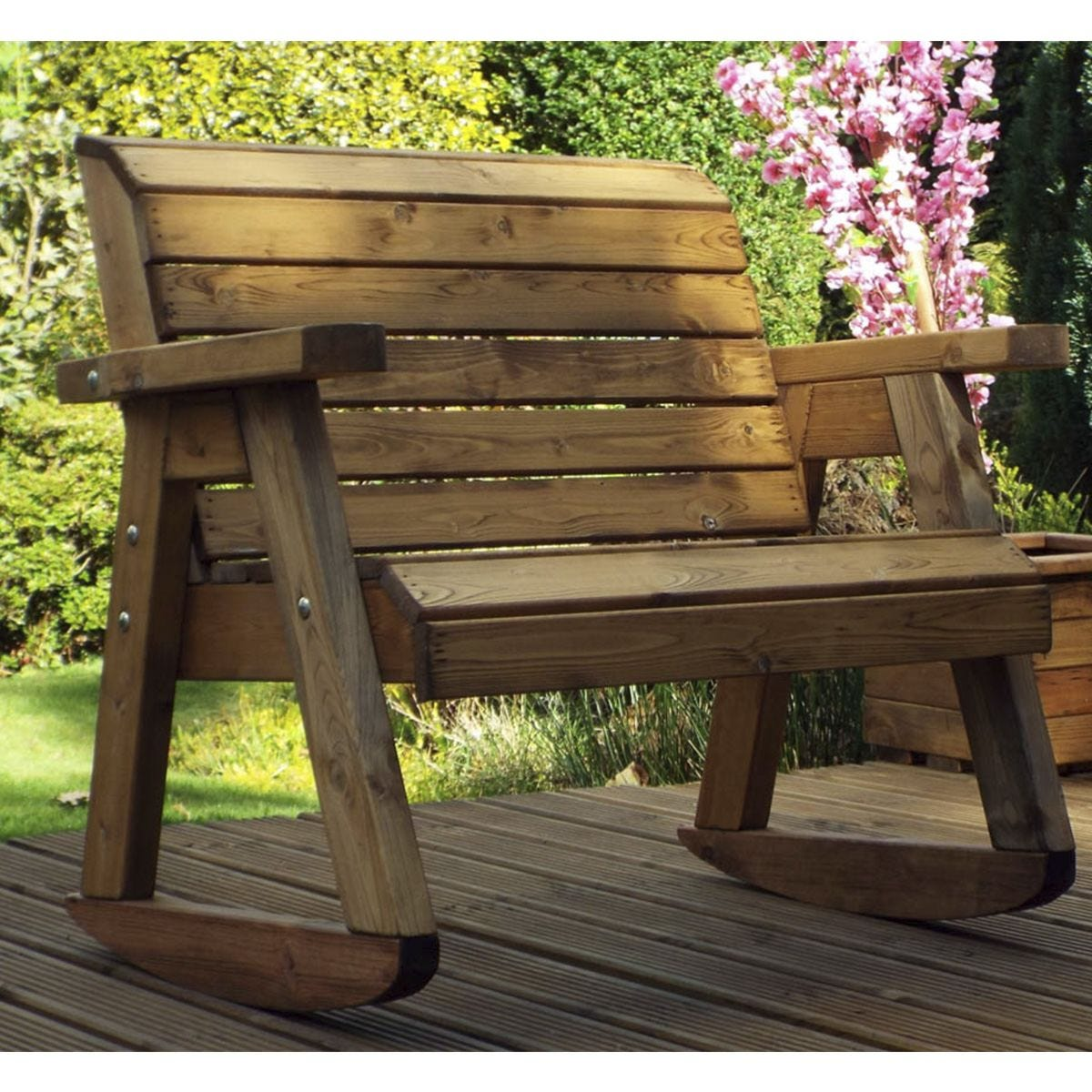 Charles Taylor Little Fella S Children S Wooden Bench Rocker Robert Dyas