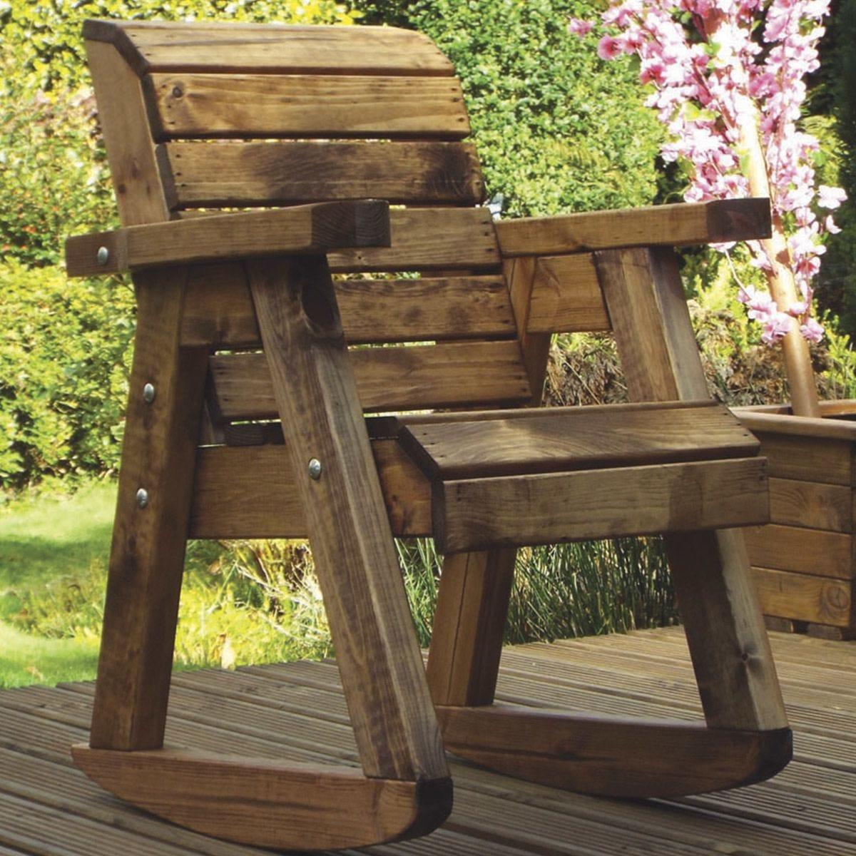 Charles Taylor Little Fella's Children's Wooden Chair Rocker