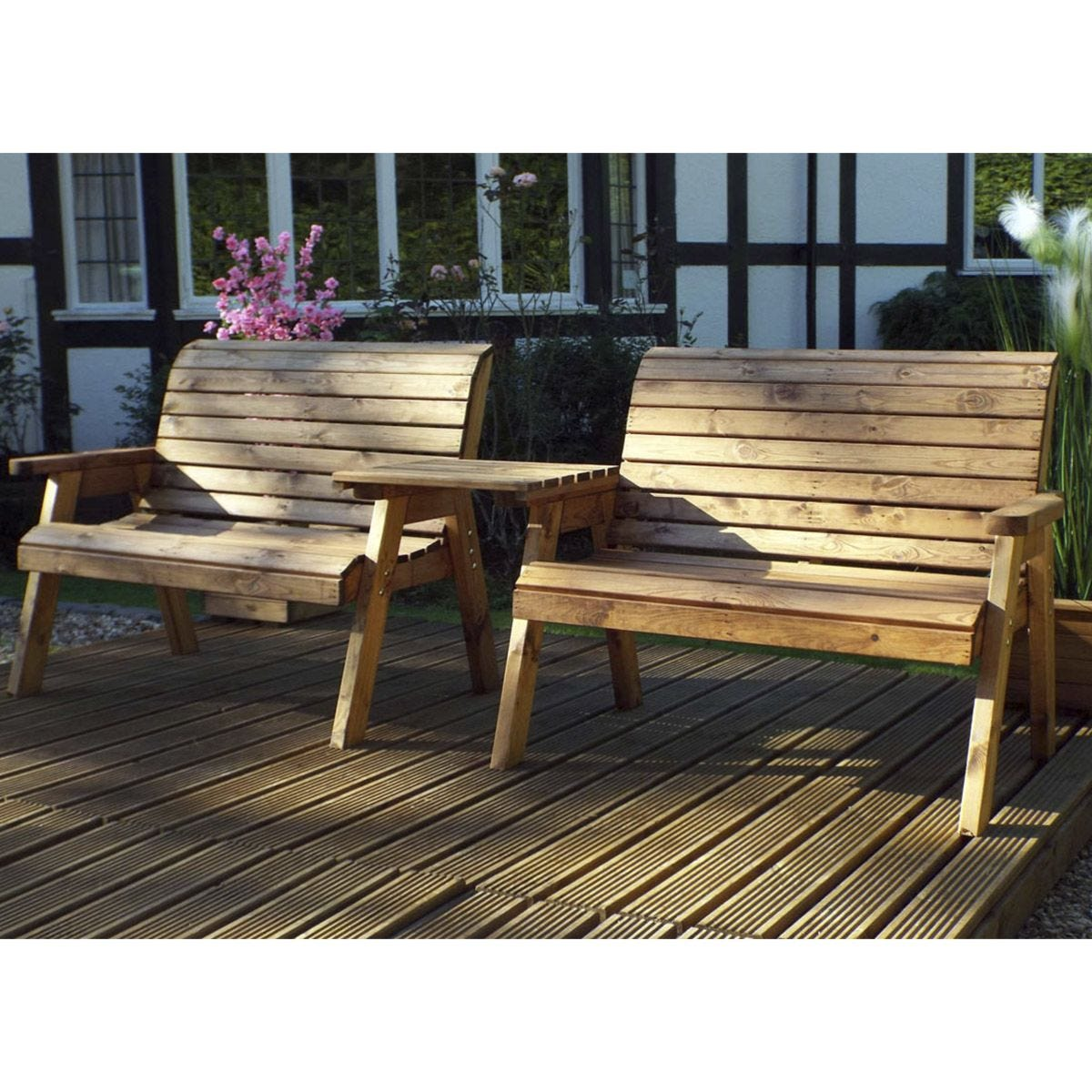 Charles Taylor Twin Bench Set Straight