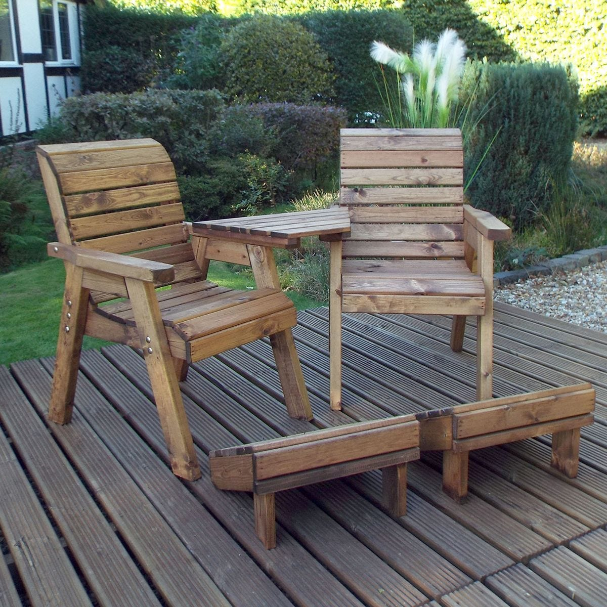 Charles Taylor Deluxe Lounger Set Angled