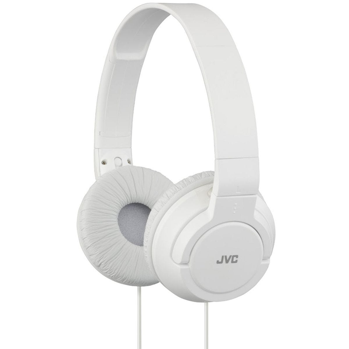 JVC Powerful Bass Headphones - White