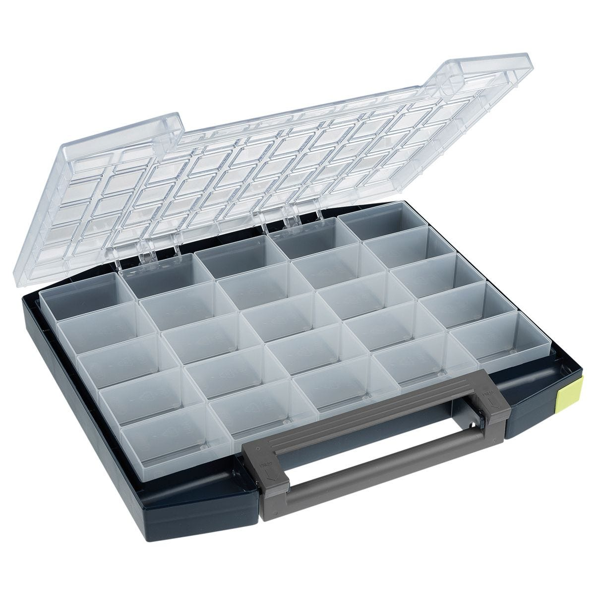 Raaco Boxxser 55 5 x 10 Pro Organiser Case - 25 Inserts