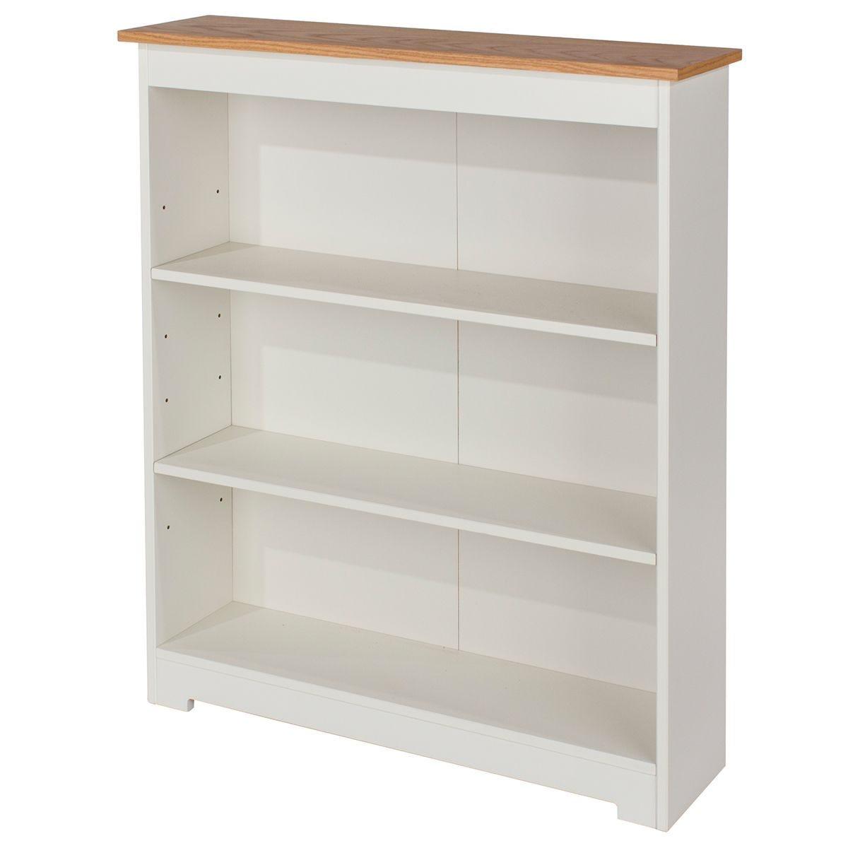 Contino Low Wide Bookcase