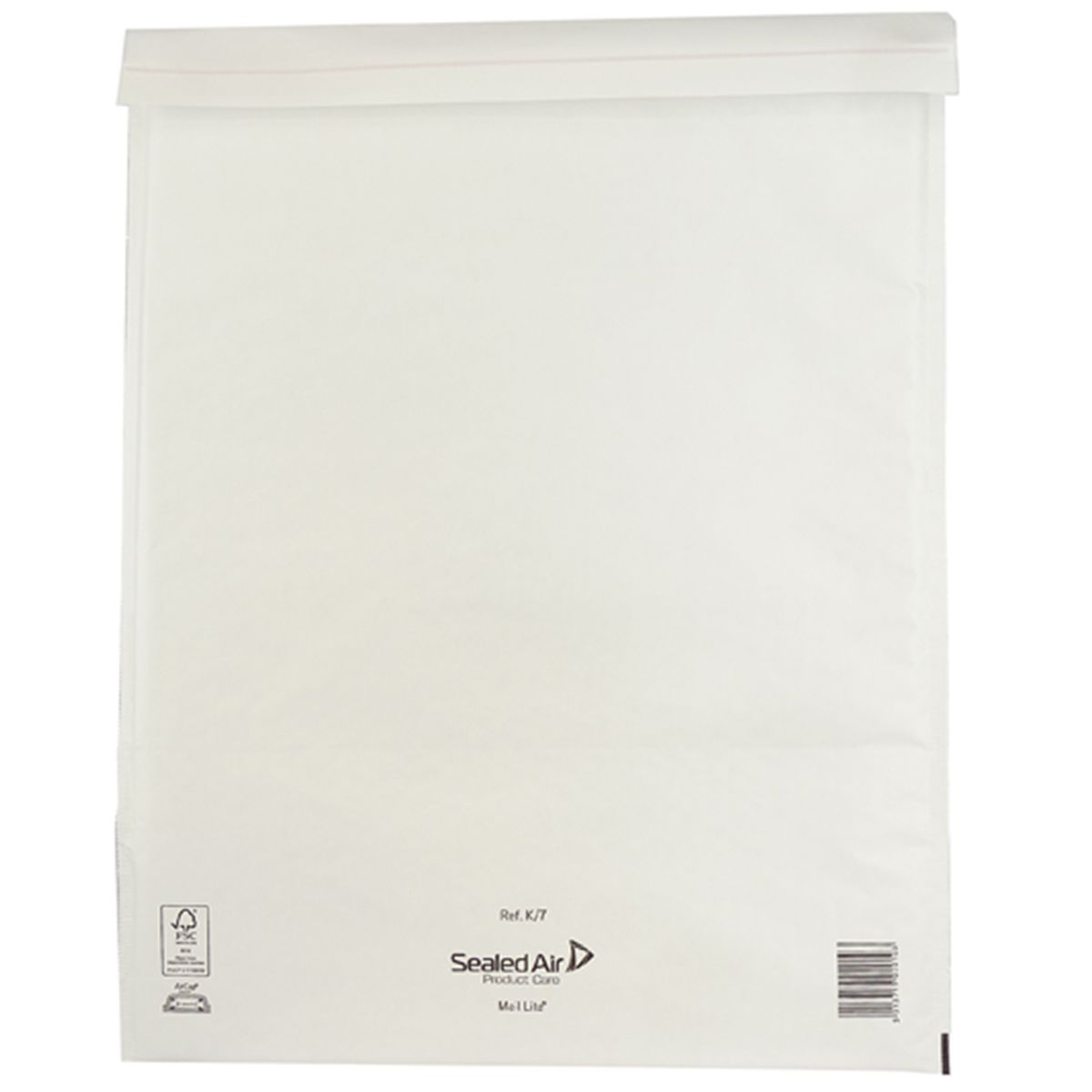Mail Lite Padded Envelopes C/0 150 (W) x 210 (H) mm Peel and Seal White - Pack of 100