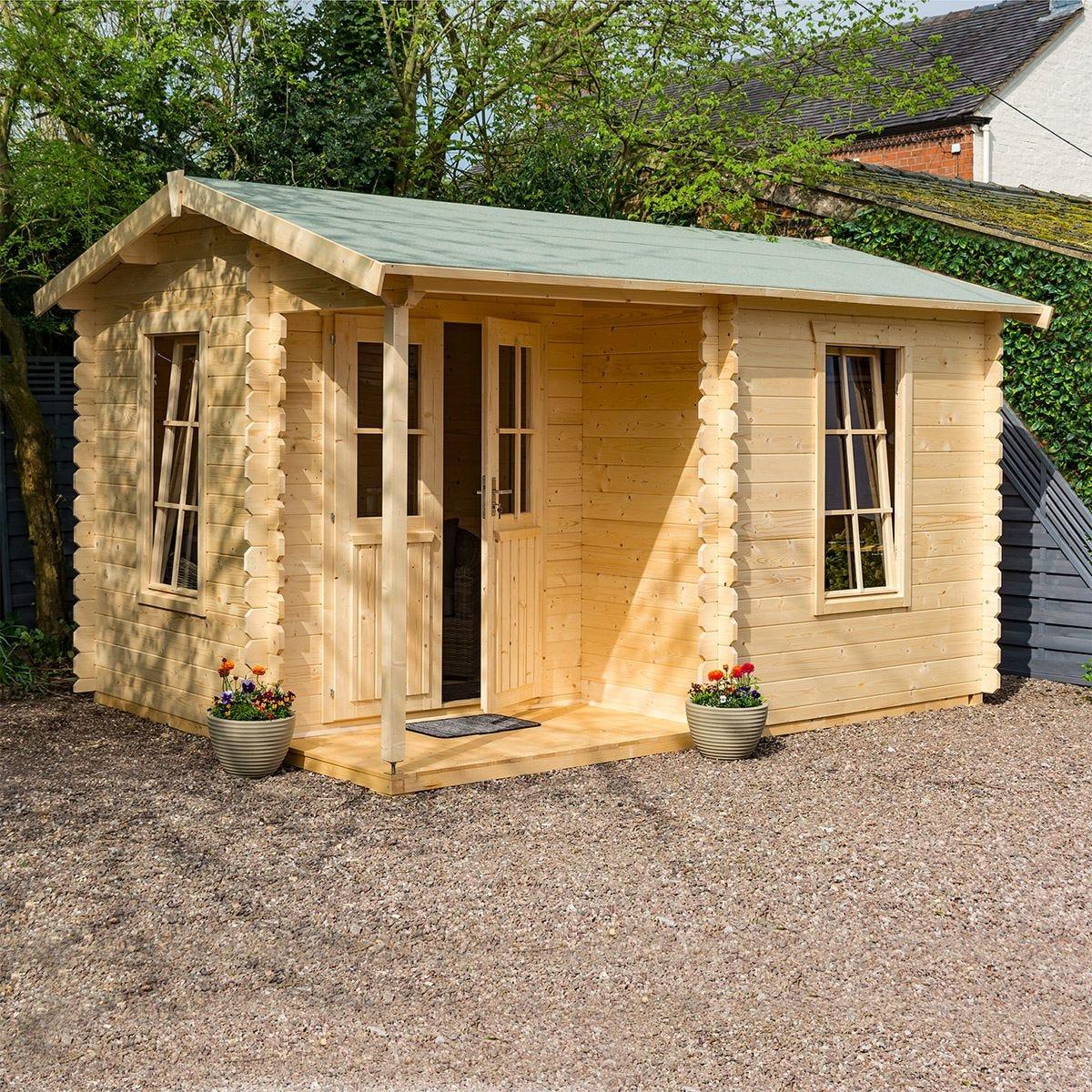 Rowlinson Garden Office Log Cabin
