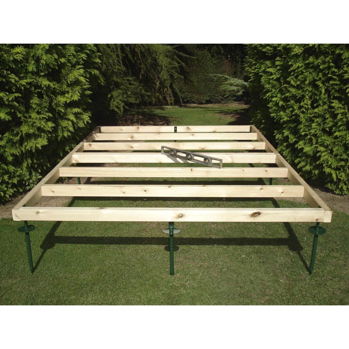 Shire Adjustable Shed Base - 6ft x 4ft