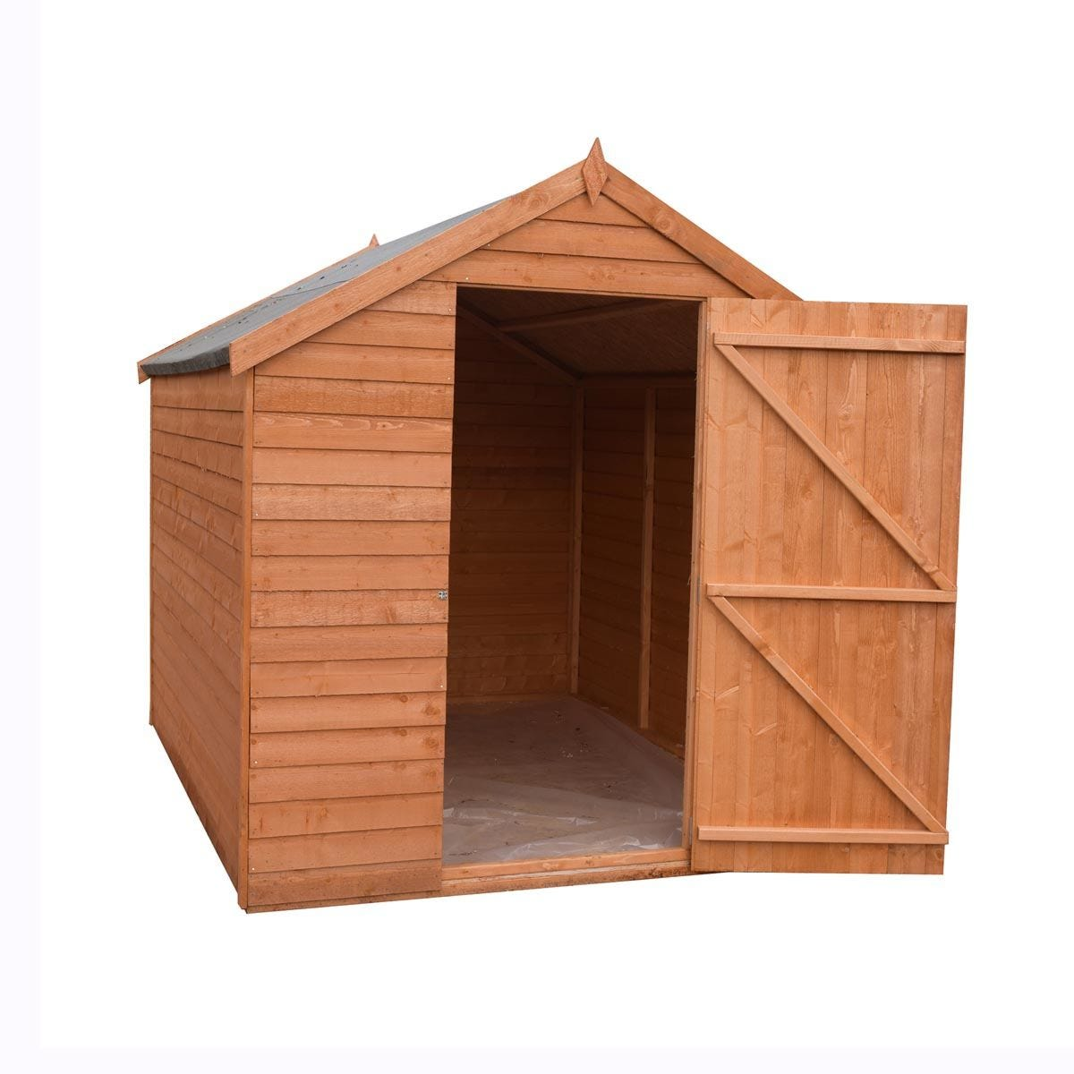 Shire Value Overlap Shed - 7ft x 5ft