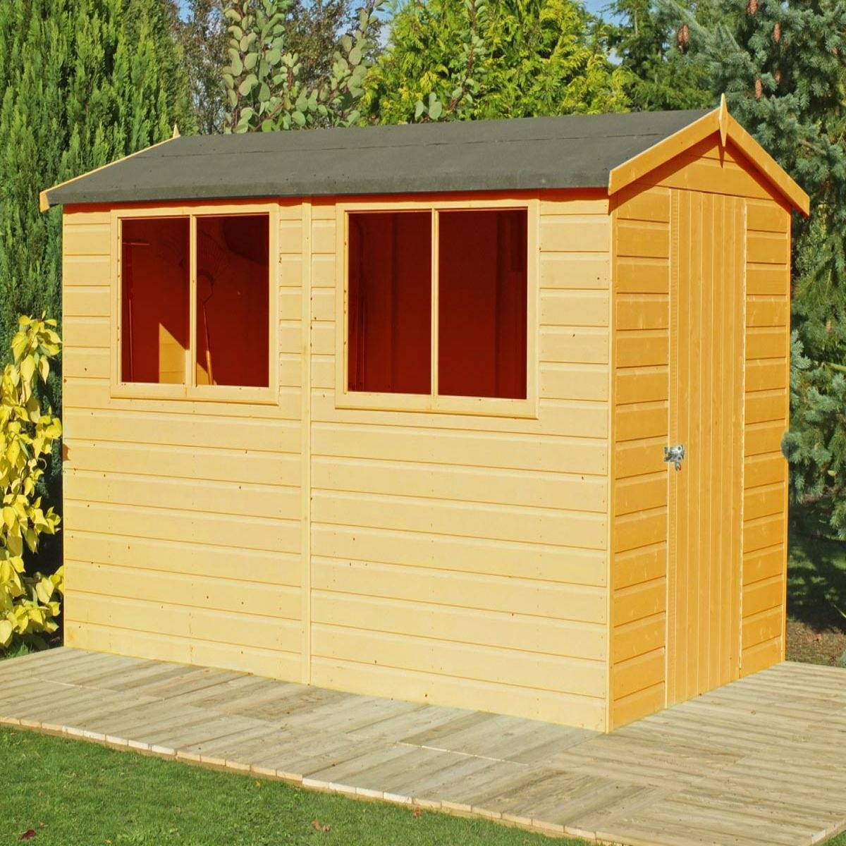 Shire Lewis Handmade Shed - 10ft x 8ft