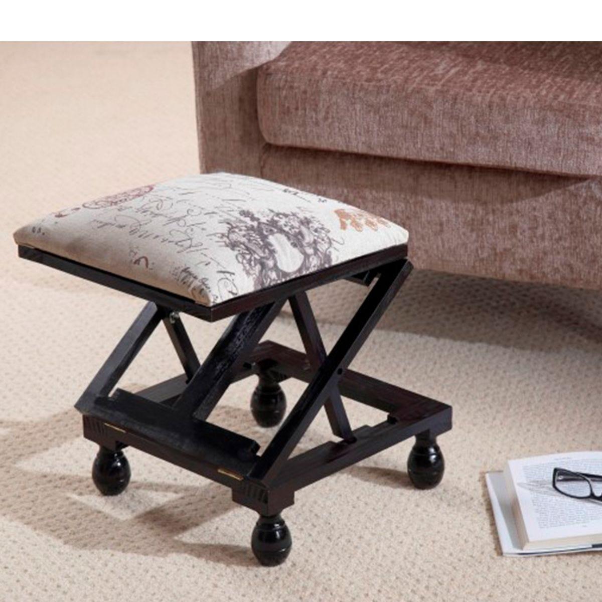 Gablemere 3 Position Footstool - Mahogany