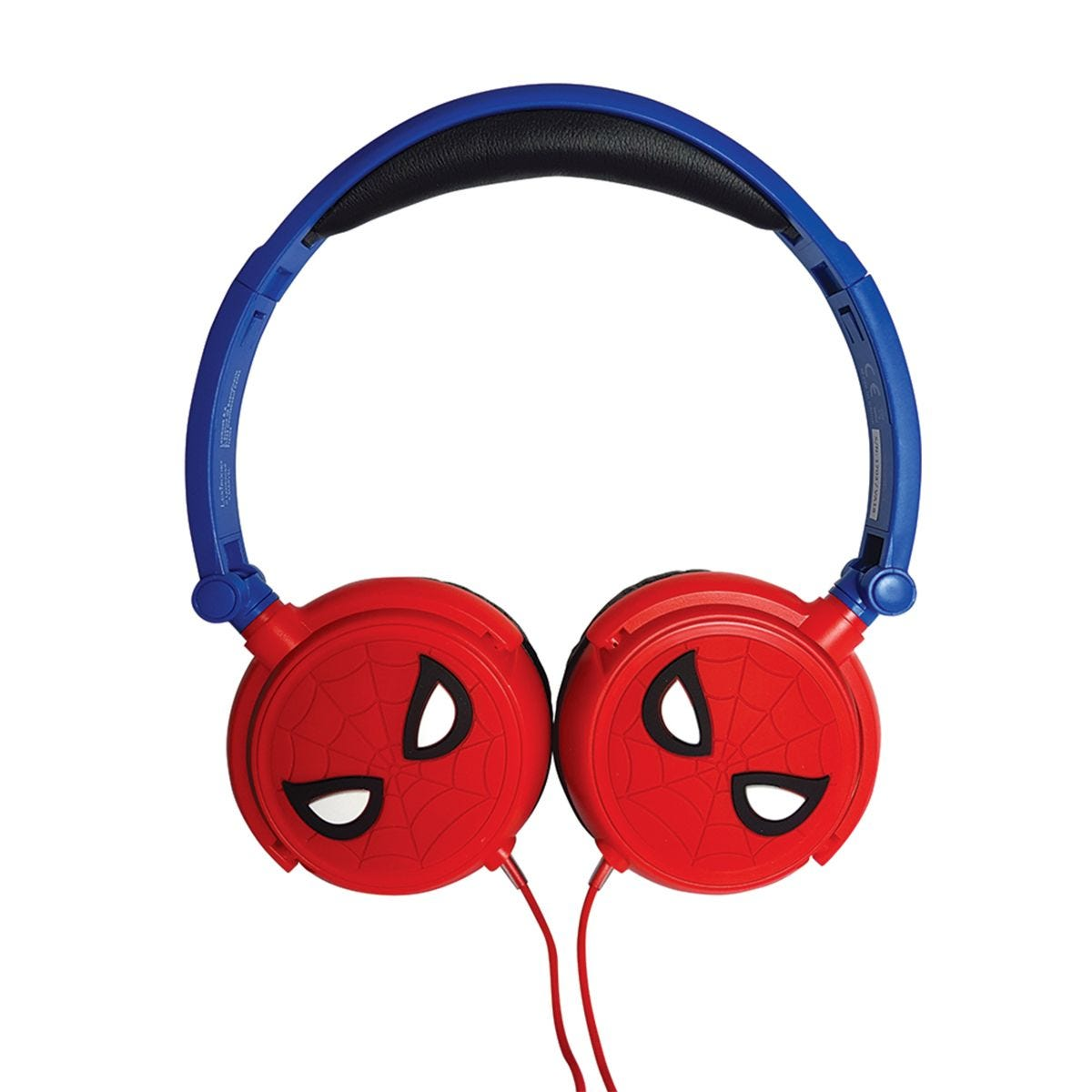 Lexibook Spider-Man Foldable Stereo Headphones with Volume Limiter