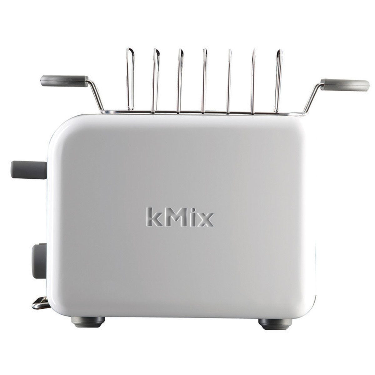 Kenwood TTM020A KMIX Stainless Steel 900W Two–Slice Toaster – Coconut White