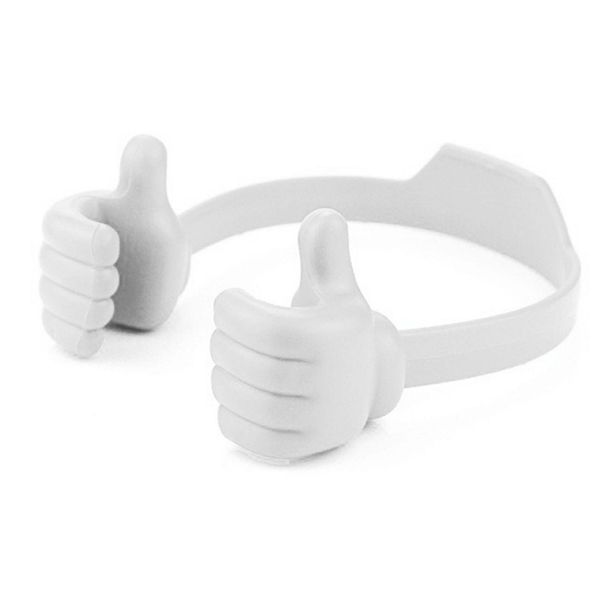 Thumbs-Up Phone Holder - White