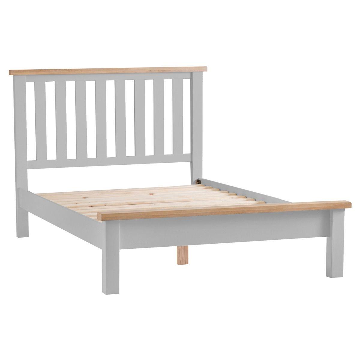 Madera Super King Bed Frame - Grey