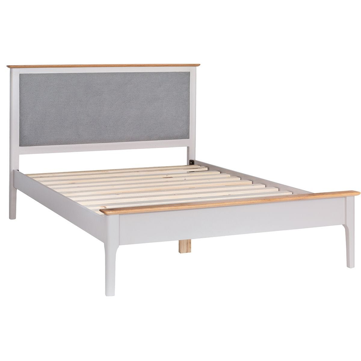 Notswood King Bed With Fabric Headboard