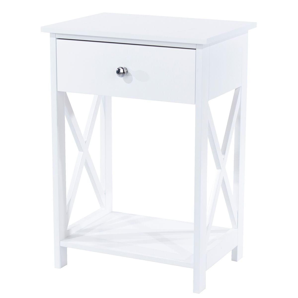 Velsa 1 Drawer Bedside Cabinet