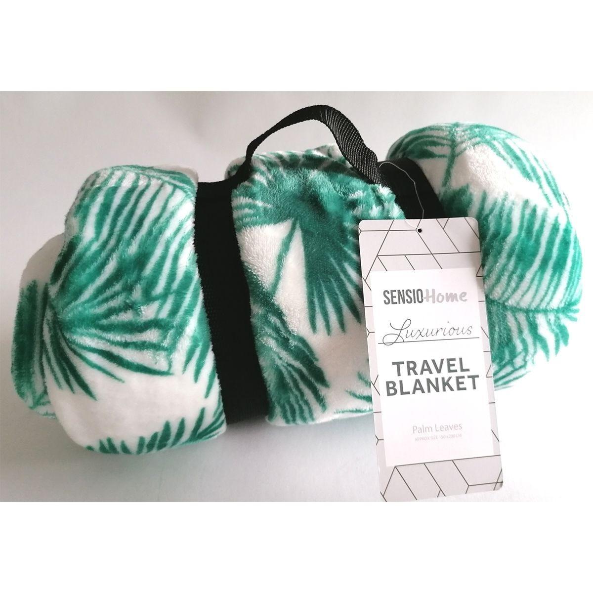 Sensio Travel Blanket - Palm Leaves