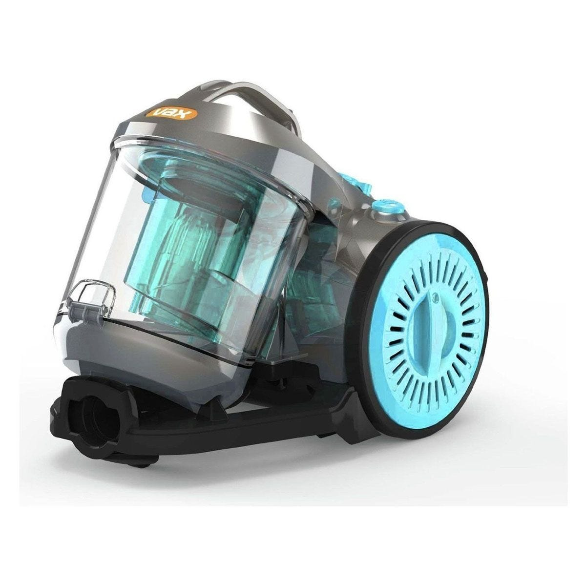 Vax Power AWC02 3 PET Bagless CylinderV1 Vacuum Cleaner - Grey / Blue