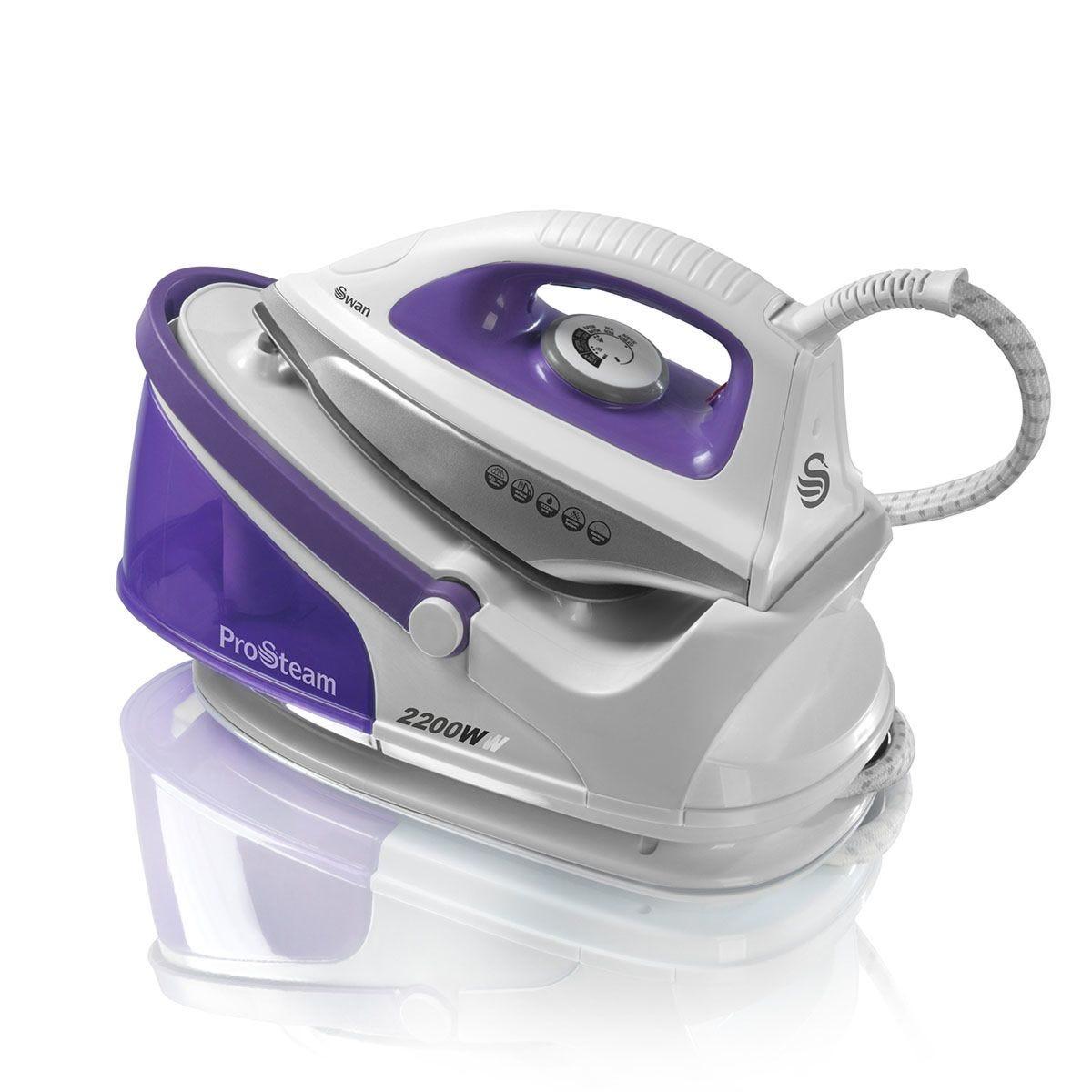Swan SI11010N Steam Generator Iron - Purple